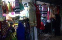 Eid-Ul-Fitr 2017 Market at Ulipur, Kurigram.