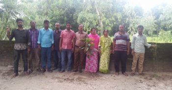 Tree Plantation at Kharija Kamal School Buraburi, Ulipur.