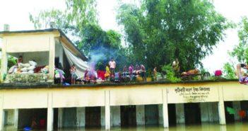 Flood Shelter Kuthibari Modern High School Kurigram