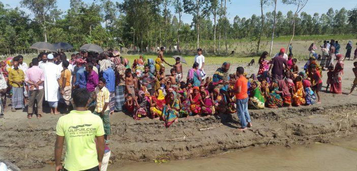 Relief Distribution at Ulipur Kurigram (2017)