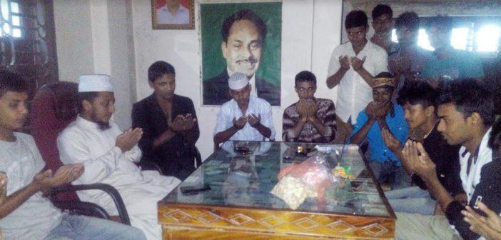 উলিপুরে জাতীয় ছাত্র সমাজের দোয়া মাহফিল